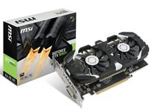 MSI GTX 1050 TI 4GT OC 4GB GDDR5 Graphics Card